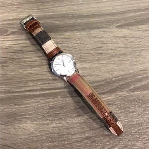 Burberry Check Ladies Watch